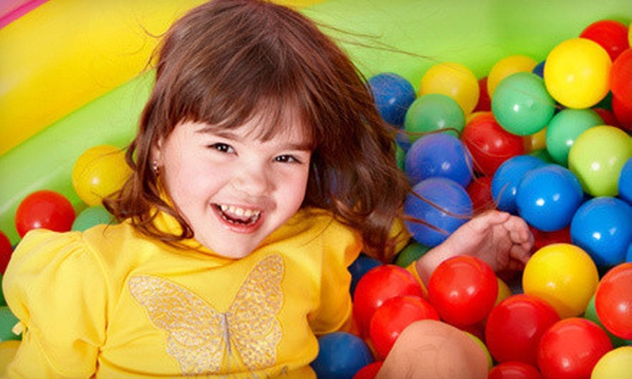 Fun World Family Playcentre - Fleetwood: Five Playground Admissions or Four All-Day-Play Passes at Fun World Family Playcentre in Surrey (Up to 60% Off)