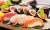 Sushi Volcán - Sushi Volcán: Menú para dos personas con 40 piezas de sushi y 2 bebidas por 19,90 € en Sushi Volcán