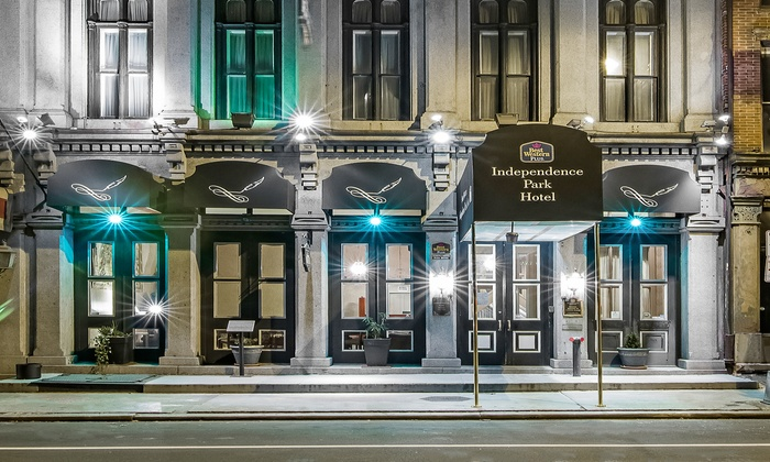 Downtown Philadelphia Hotel in Historical Building
