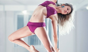 Pole to Pole Fitness: Booty Camp Session or Sexy Play Pole-Dancing Workshop at Pole to Pole Fitness (Up to 52% Off)