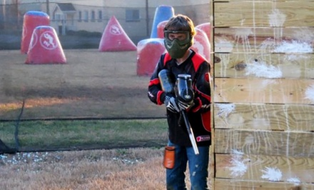 Paintball Package for 2 or 4 or Private Party for Up to 20 at Insane Paintball (Up to 50% Off)