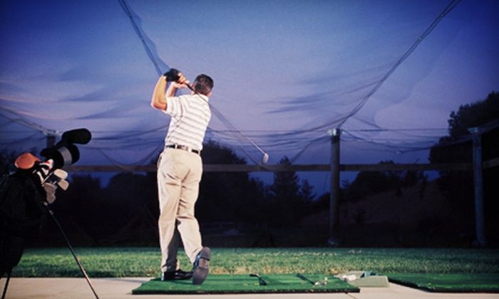 Sunset Golf Center - Five Oaks: Driving-Range Package at Sunset Golf Center (Up to 52% Off). Three Options Available.