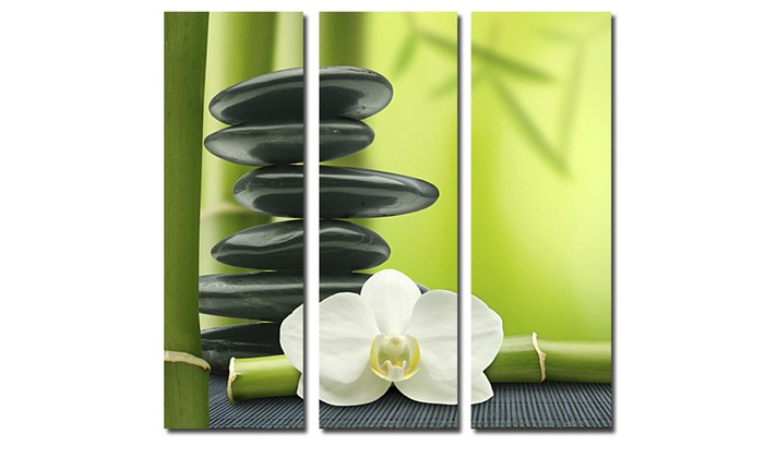 3 teiliges bild auf leinwand groupon goods. Black Bedroom Furniture Sets. Home Design Ideas