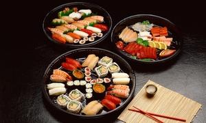 Sushi Beach: Menu pour 1 personne ou à partager à 2 ouplateau de sushis pour 2 à 6 personnesdès 9,90 €au Sushi Beach