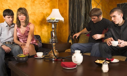 $12 for $25 Worth of Hookah and Drinks at Basha Hookah Lounge
