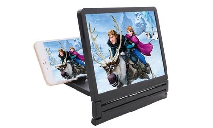 1 ou 2 agrandisseurs d'écran pour smartphone/iPhone, blanc ou noir