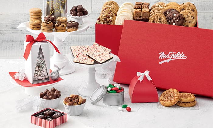 Mrs. Fields: $25 for $40 Worth of Cookies and Treats from Mrs. Fields