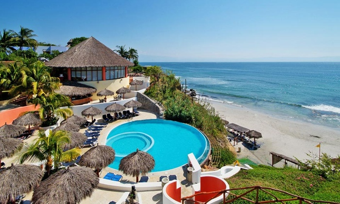 All-Inclusive Punta Mita Beach Vacation with Airfare by Vacation Express - Riviera Nayarit, Mexico: 4- or 7-Night All-Inclusive Riviera Nayarit Vacation with Airfare, Meals, and Accommodations from Vacation Express