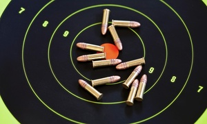 Live Fire Weapons and Range: One Target with Purchase of Full Price Target at Live Fire Weapons and Range