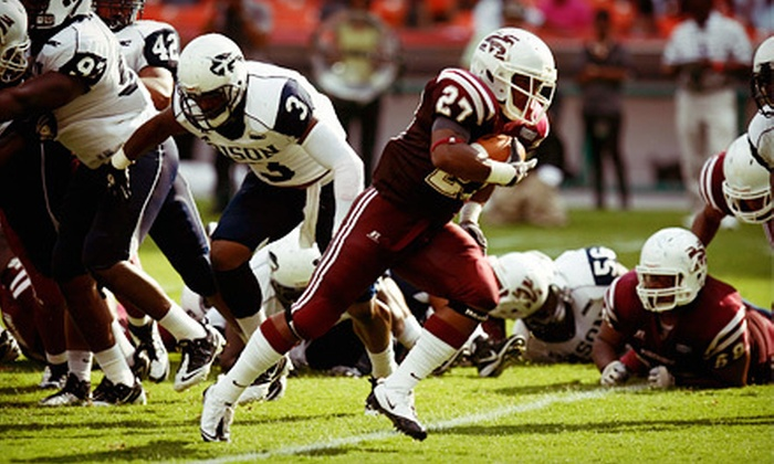 AT&T Nation's Football Classic - RFK Stadium: One G-Pass to Nation's Football Classic Between Howard University and Morehouse College on September 1 (Up to $48.80 Value). Two Options Available.
