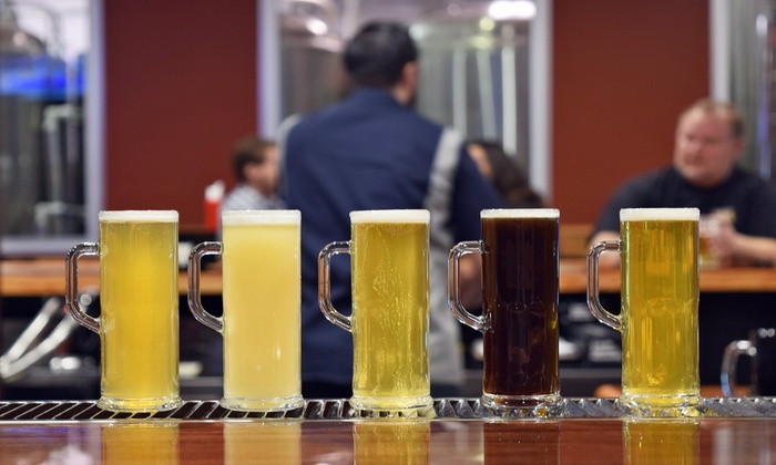 Old School Brewing Company - South Summerlin: Brewpub Food and Beer at Old School Brewing Company (Up to 48% Off). Two Options Available.