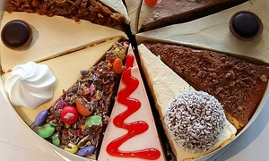 The Caledonian Cheesecake Company: Three Individual Cheesecakes, Three or Six Slices or a Full Nine-Inch Cheesecake at The Caledonian Cheesecake Company