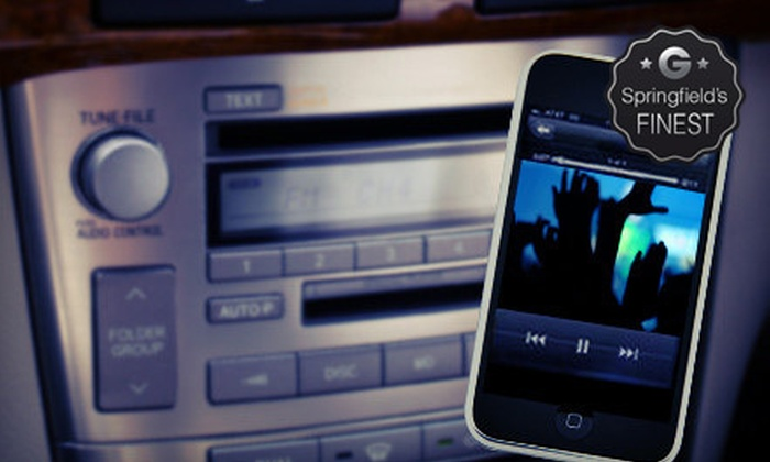 Creative Car Audio - Multiple Locations: $60 for an MP3-Player Auxiliary-Input Installation from Creative Car Audio ($150 Value)