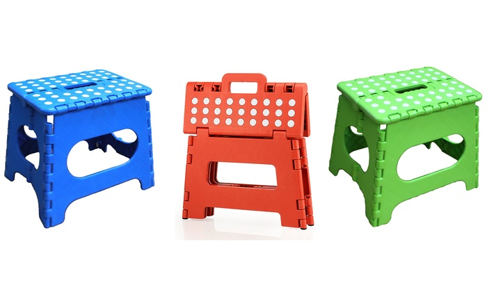colorful step stools 9 or 12inch slip