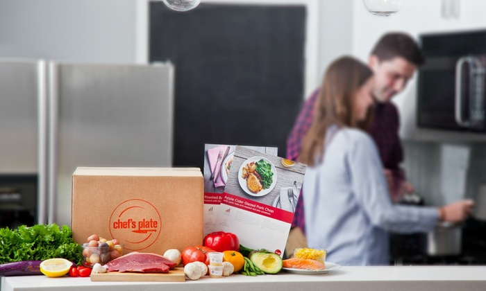 Chef's Plate - Toronto (GTA): Up to 41% Off Meal Delivery from Chef's Plate