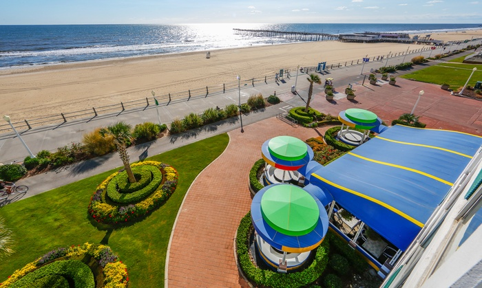 Oceanfront Resort on Virginia Beach Boardwalk