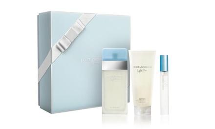 Dolce & Gabbana Light Blue Set for Women (3-Piece)