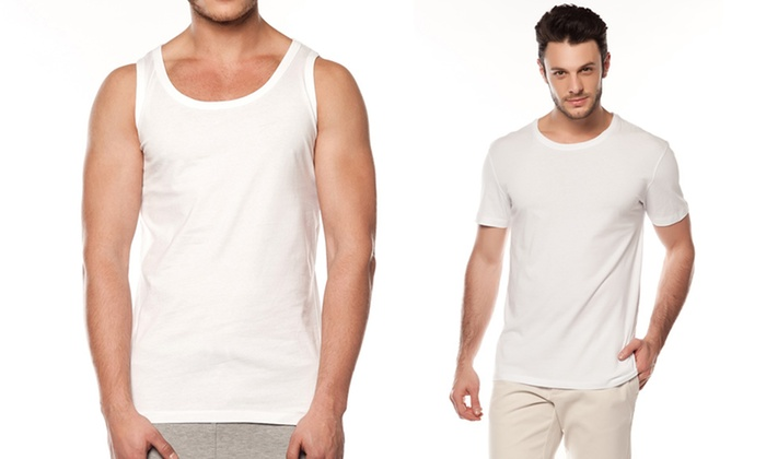 2-Pack of Franklin & Fox Undershirts: 2-Pack of Franklin & Fox Undershirts. Multiple Styles from $16.99–$19.99. Free Returns.