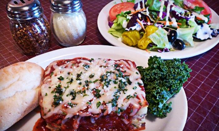 Cementos/DeArini's Villa - Northcrest: $10 for $20 Worth of Italian Food at Cementos/DeArini's Villa