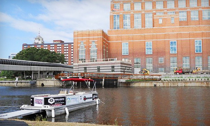 Lansing Metro Marinas - The Stadium District: Chartered-Boat Cruise for Up to 15 People for One or Two Hours from Lansing Metro Marinas (Half Off)