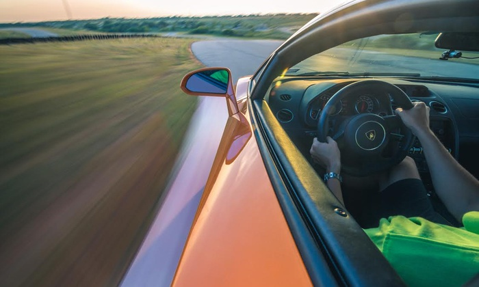 DriveXotic - Cresson: Four-Lap Exotic-Car Driving Experience from DriveXotic (Up to 46% Off). Three Levels Available.