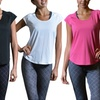 3-Pack of Women's High-Performance T-shirts