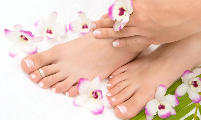 Premier Day Spa - Hallandale Beach: Classic, French, or Deluxe Mani-Pedi at Premier Day Spa (Up to 57% Off)