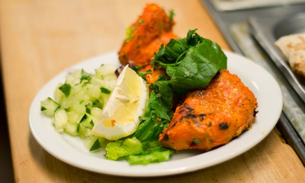 Indian Meal for Two or $12 for $20 Worth of Indian Food at Tandoori Oven