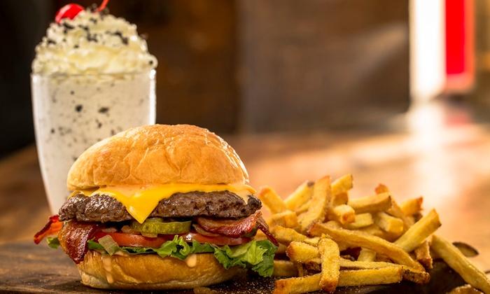 MOOYAH Burgers, Fries & Shakes Matthews,NC  - Matthews: Two Groupons, Each Good for $8 Worth of Burgers, Fries, and Shakes at MOOYAH-Matthews,NC ($16 Total Value)