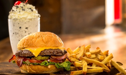 $9 for Two Groupons, Each Good for $8 Worth of Burgers at MOOYAH Burgers Fries & Shakes ($16 Value) - Provo, UT