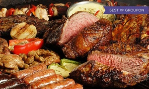 The Knife Restaurant: All-You-Can-Eat Argentine Steakhouse Dinner for Two or Four with Sangria at The Knife Restaurant (Up to 23% Off)