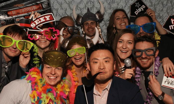 Greatshots Photo Booths - Seattle: $495 for $934 Worth of Photo-Booth Rental — GreatShots Photo booths