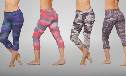Marika Tek Printed Capri Leggings