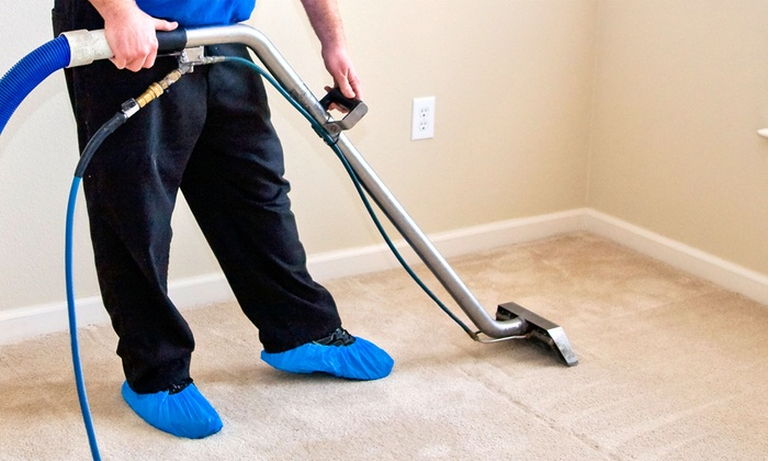 Green Cleaning Solutions - Des Moines: $69 for Two Rooms of Carpet Cleaning with DuPont Teflon Advanced Treatment from Green Cleaning Solutions ($160 Value)