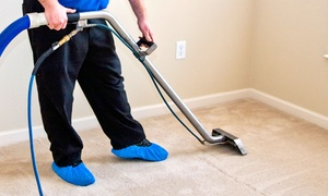 Green Cleaning Solutions: $69 for Two Rooms of Carpet Cleaning with DuPont Teflon Advanced Treatment from Green Cleaning Solutions ($160 Value)