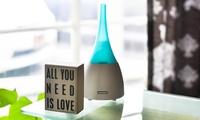 GROUPON: ZAQ Allay Blue LiteMist Air Aromatherapy Essential... ZAQ Allay Blue LiteMist Air Aromatherapy Essential Oil Diffuser