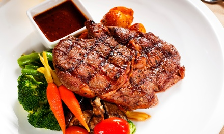 $24 for $40 Worth of Steakhouse Cuisine at Bastien's Restaurant