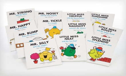 Little Miss & Mr. Men 12-Book Bundle