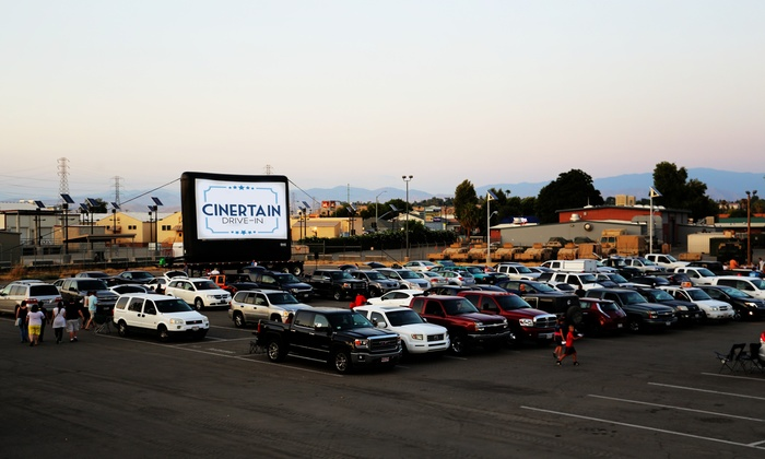 Cinertain Drive-In - Bakersfield: Up to 31% Off Carload Parking Pass at Cinertain Drive-In