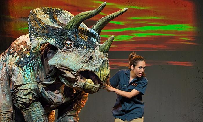 "Dinosaur Zoo - Panasonic Theatre: ""Dinosaur Zoo"" Family Show at Panasonic Theatre, Select Performances July 16–26 (Up to 42% Off)"