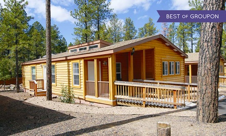 2-Night Stay in a Two-Bedroom Cabin for Four at PVC at The Roundhouse Resort in Pinetop, AZ. Combine Up to 4 Nights.