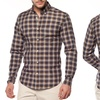 Franklin Fox Men's Button-Down Checkered Shirt
