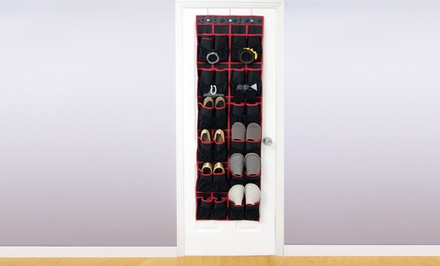 24-Pocket Over-the-Door Shoe Organizer. Free Returns.