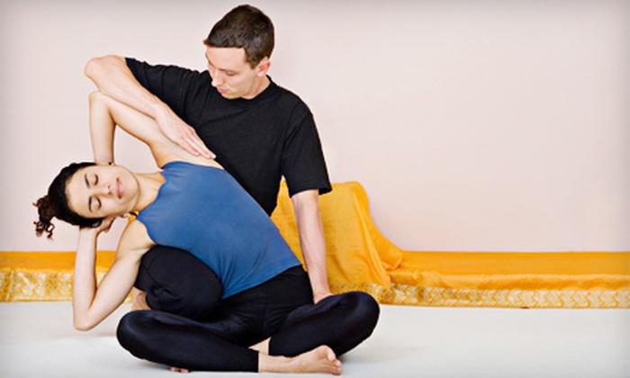 Virginia Miller Bodycare & Yoga - Amphi: 60- or 90-Minute Reflexology, Shiatsu, or Thai Massage at Virginia Miller Bodycare & Yoga (Up to 56% Off)