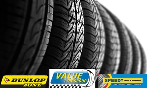 Speedy Tyre & Fitment: Choice of Premium Branded Tyres from R398 at Speedy Tyre & Fitment