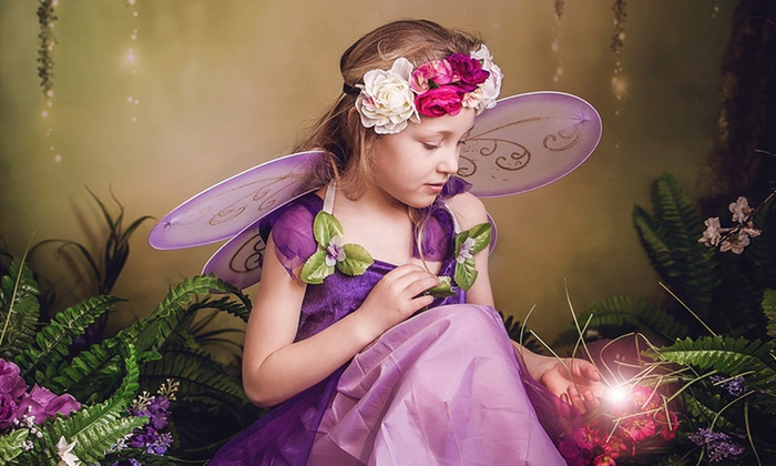 Sian Lewis Photo - Barry: Children's Fairy Photoshoot With Prints for £19 at Sian Lewis Photography (86% Off)