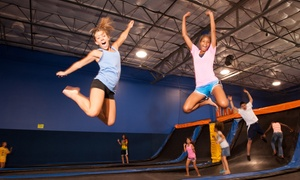 Cosmic Jump: $12 for Two 60-Minute Indoor Trampoline-Park Visits at Cosmic Jump (Up to $24 Value)