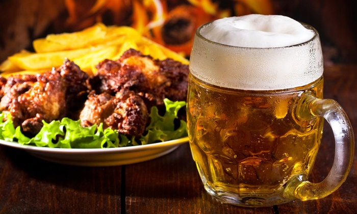 The North Tap - Mount Sinai: Pub Grub and Drinks for Two or Four at The North Tap (Up to 50% Off)