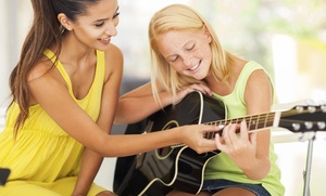 Beauty and the Beat Music Academy: Two Musical Theater or Four or Eight Drum or Guitar Classes at Beauty and the Beat Music Academy (Up to 57% Off)
