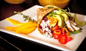 Pimento Jamaican Kitchen: Jamaican Meal with Drinks for Two or Four at Pimento Jamaican Kitchen (Up to 46% Off)